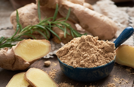 Seven great health benefits of ginger