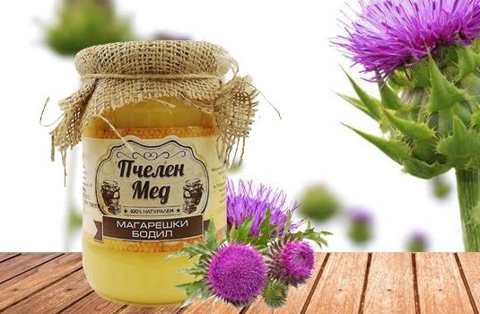 Мед от магарешки бодил - природен афродизиак и още нещо