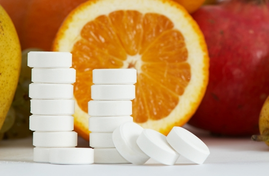 For vitamin C: Daily dose and from which foods to get it