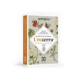 Уротера, при проблеми на уринарния тракт, Terrapia, 30 капсули