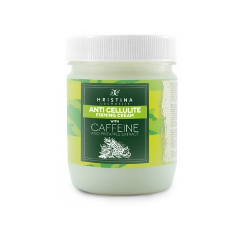 Anti-cellulite cream with pineapple and caffeine