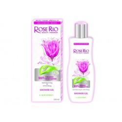 Душ-гел за тяло със 100% БИО розова вода