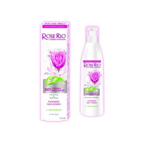 Почистващ лосион за лице със 100% БИО розова вода