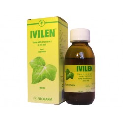 Ivilen, herbal syrup with dry extract of ivy, 100 ml