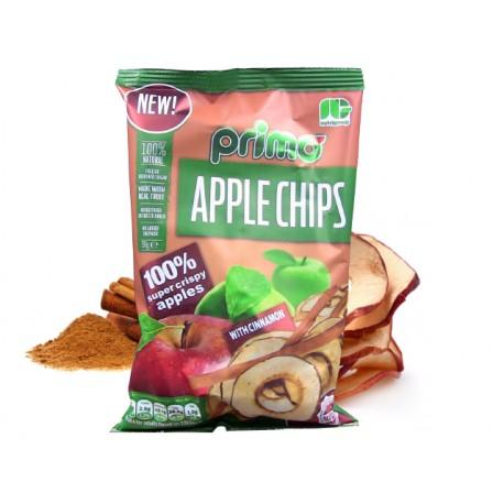 Ябълков чипс с канела, Primo - 50 гр.