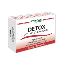 DETOX activated charcoal (260 mg)