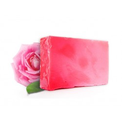 Soap with Bulgarian rose oil, handmade