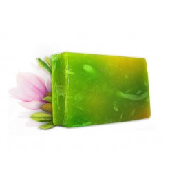Soap with extract of magnolia, handmade