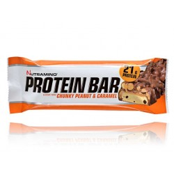 Nutramino ProteinBar - Фъстъци и карамел (21 гр. протеин)