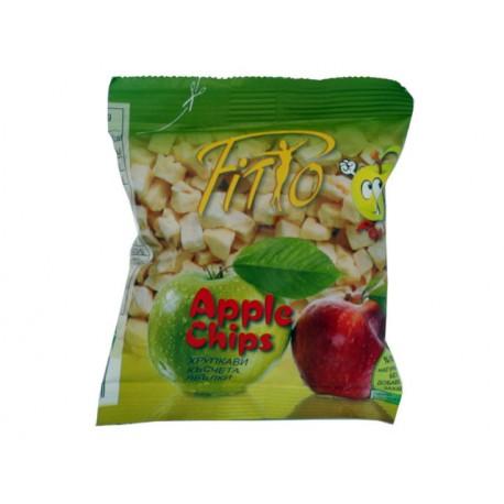 Хрупкави късчета ябълки - 20 гр.