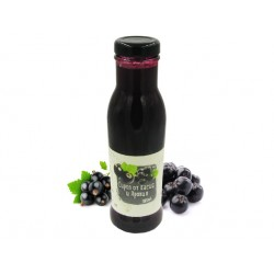 Natural Black currant and Aronia Syrup, concentrate, 285 ml