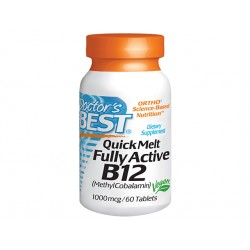 Chewable Fully Active B12 1000mcg - 60 tablets