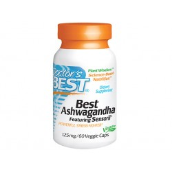 Ashwagandha, Doctor's Best - 60 capsules