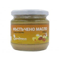 Peanut butter with honey and olive oil, Zdravnitza - 340 g