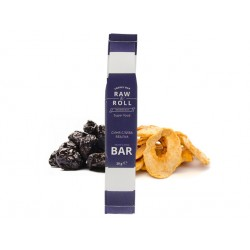 Energy bar - prune and apple, Raw & Roll - 30 g