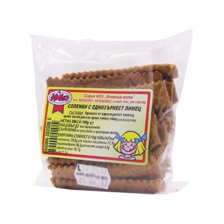 Соленки от еднозърнест лимец - 100 гр.