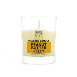 Масажна свещ - фъстъчено масло