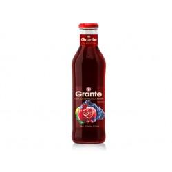 Сок от нар, ябълка и грозде, Натурален, Grante - 750 мл.