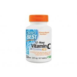 Витамин C, с удължено действие, Doctor's Best - 60 капсули