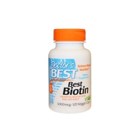 Биотин, Doctor's Best - 120 капсули
