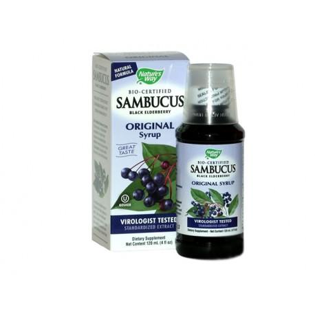 Сироп от черен бъз - Sambucus
