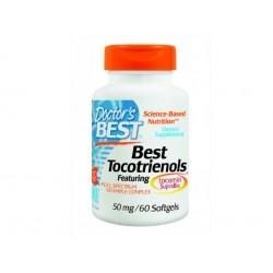 Витамин Е с токотриеноли, Doctor's Best - 60 капсули
