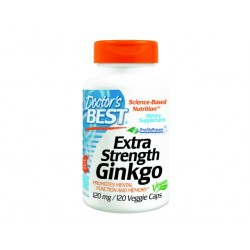 Extra Strenght Ginkgo, Doctor's Best - 120 Veggie capsules