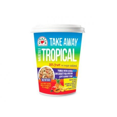 Мюсли Тропикал, TakeAway - 90 гр.