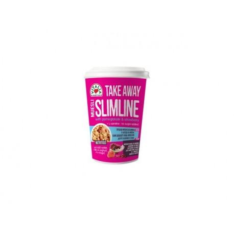 СлимЛайн Мюсли с ягода и нар, TakeAway - 90 гр.