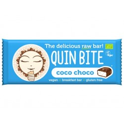Coco Choco Raw Vegan Bar, QuinBite - 30 g