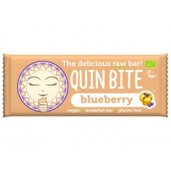 Blueberry Raw Vegan Bar, QuinBite - 30 g