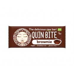 Brownie Raw Vegan Bar, QuinBite - 30 g