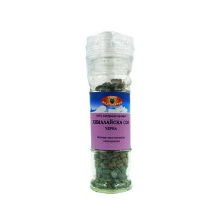 Black Himalayan salt, salt shaker - 90 g