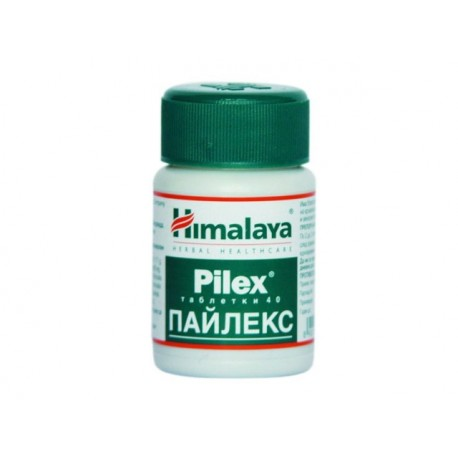 Пайлекс, при хемороиди и венозни проблеми, Хималая - 40 таблетки