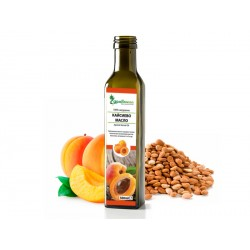 Apricot oil, cold-pressed, Zdravnitza - 500 ml