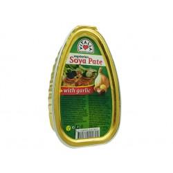 Вегетариански соев пастет с чесън, 105 гр.