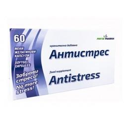 Антистрес, при нервно неразположение, ФитоФарма, 60 капсули
