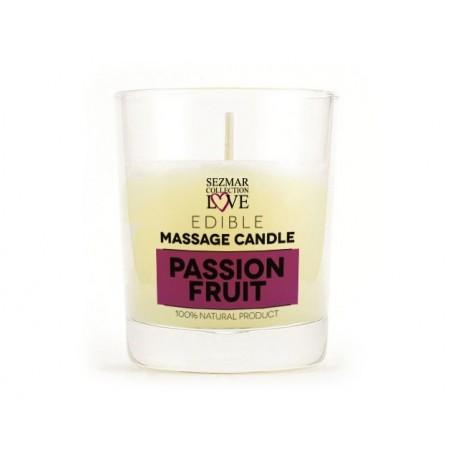Масажна свещ, Маракуя, за еротичен масаж, 100 мл.