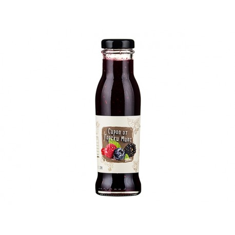 Натурален сироп от горски плодове, Бъз Ко, 285 мл.