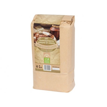 Natural full grain spelled flour, 1 kg