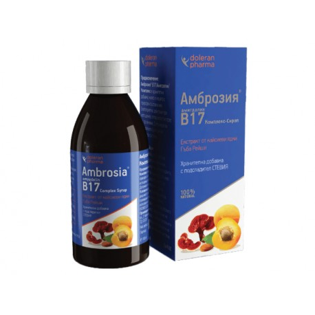 Амигдалин (Витамин B17), Комплекс, Сироп, 200 мл.