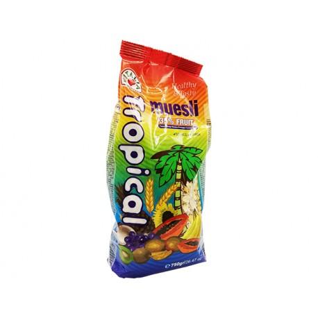 Мюсли Тропикал, микс от тропически плодове, 750 гр.