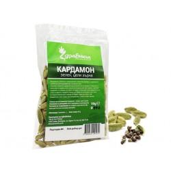 Кардамон, зелен, цели зърна, Здравница, 50 гр.