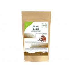 Какао, органично, сурово, на прах, Биония, 200 гр.