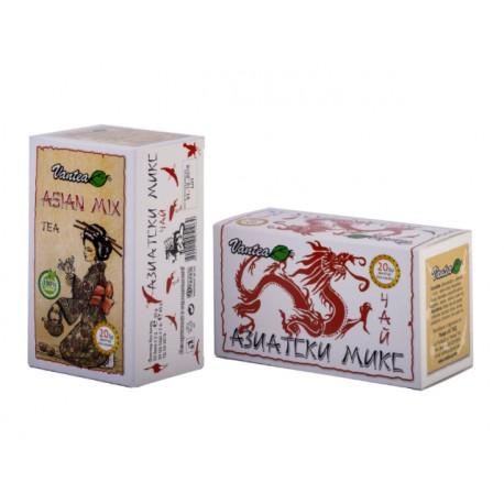 Азиатски микс, билков чай, 20 филтърни пакетчета