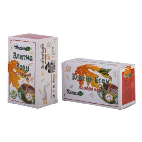 Златна есен, плодов чай, 20 филтърни пакетчета
