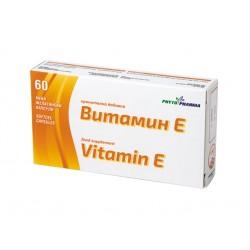 Витамин Е, ФитоФарма, 60 капсули