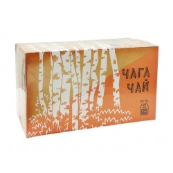 Чага Чай, натурален, 24 филтърни пакетчета