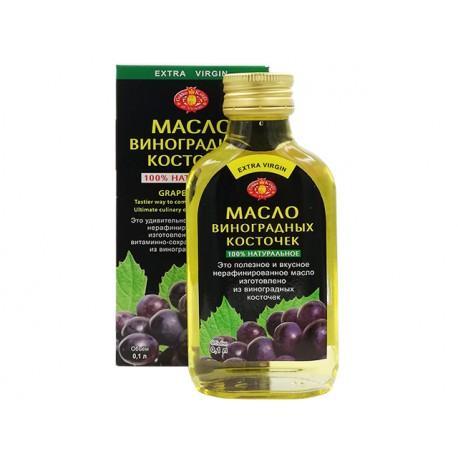 Масло от гроздови семена, студено пресовано, Агроселпром, 100 мл.