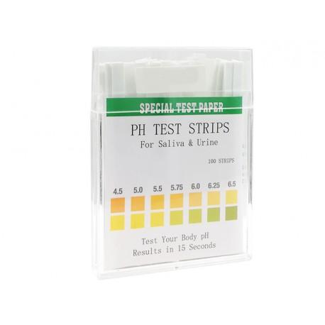 Wide Range pH Test - 80 Strips
